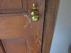 Wooden Door Restoration - Before