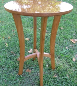 Custom Accent Table | Custom Woodworking by DJP Artistry