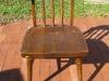 Chair Prior to Restoration | Custom Woodworking by DJP Artistry