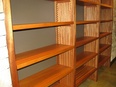 Custom Wine Shelving  | Custom Woodworking by DJP Artistry