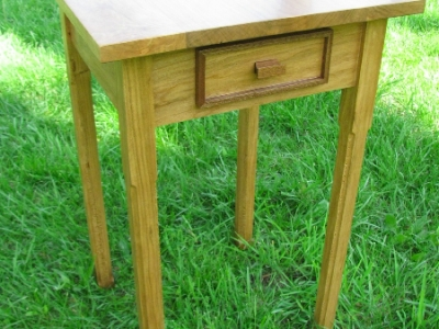 Custom Cherry Accent Table | Custom Woodworking by DJP Artistry
