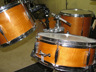 Re-wrapped Drums | Custom Woodworking by DJP Artistry