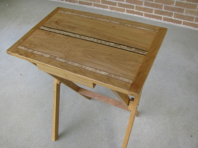 Custom Folding Table | Custom Woodworking by DJP Artistry