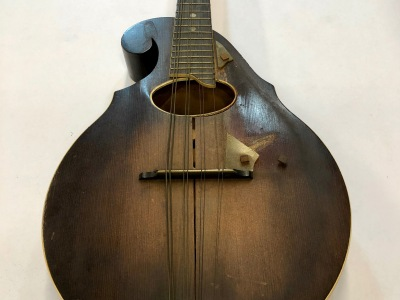 Mandolin Restoration - Before 2