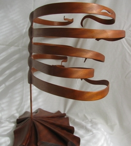 Rib Cage Sculpture  | Custom Woodworking by DJP Artistry
