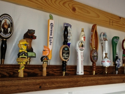 Custom Tap Handle Display  | Custom Woodworking by DJP Artistry