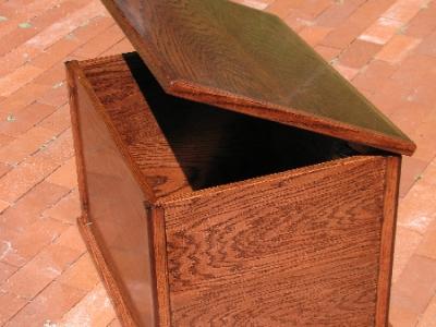 Custom Oak Toy Box